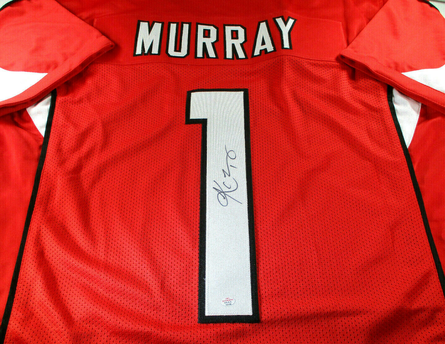 KLYER MURRAY / ARIZONA CARDINALS QB / AUTOGRAPHED CARDINALS CUSTOM JERSEY / COA