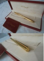 S.T. DUPONT CLASSIQUE PENNA A SFERA VERMEIL ARGENTO 925 E ORO+GARANZIA E... - $112.07