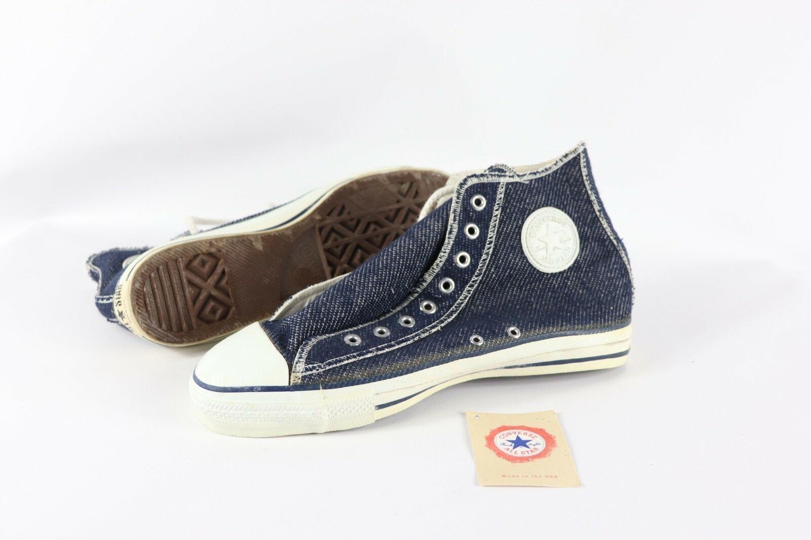 Vintage Neuf Converse Hommes 11 Chuck Taylor All Star à L'envers Chaussures