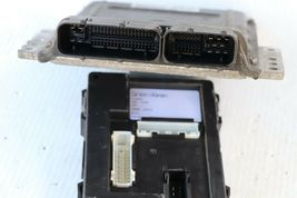 05 Nissan Pathfinder ECU ECM Computer BCM Ignition Switch W/ Key MEC35-753-A1 image 4