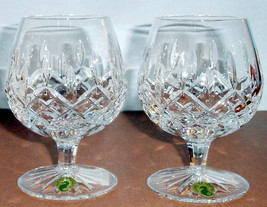 Waterford Lismore Brandy Balloon Set of 2 Glasses #6223182620 New In Box - $146.90