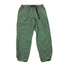 EMS Mens Hiking Pants Size Extra Large Thin Olive Green Quick Dry Jogger Style - $13.51