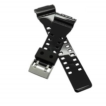 16mm Shining Repalcement Watch Strap Fits Casio G-Shock GA-100, GA-300, ... - $25.99