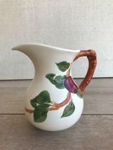 """Vintage Franciscan Apple Large Pitcher Made in California Leaf 6 1/2"""" Tall image 3"""
