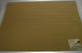 Lenox Simply Fine Khaki Cloth Placemats Set of 12 (NEW) - $62.32
