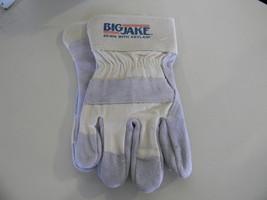 Memphis Big Jake 1700 Size Large Leather Gloves Kevlar Stitching - $7.46