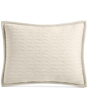 Hotel Collection Modern Wave 1 Quilted Standard Sham - $28.50