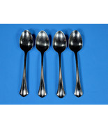 """SET(S) OF 4 - ONEIDA DELUXE RUSHMORE 6"""" TEASPOONS - EXCELLENT - STAINLESS - $98.00"""