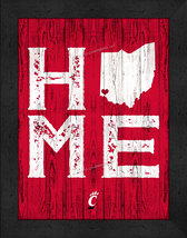 "University of Cincinnati Bearcats ""Home Away from Home""  12 x 16 Framed ... - $39.95"