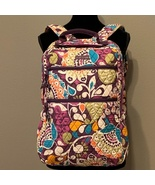 Vera Bradley Tech Backpack in Plum Crazy - $88.00