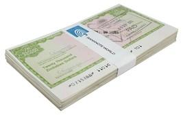 Zimbabwe 20,000 (20000) Dollars Cheque Amount Field X 100 Pieces (PCS),2... - $229.99