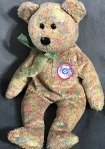 """2002 Ty Signature Plush Beanie Baby Bear Brown Speckles 7"""" - $19.79"""