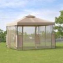 Goplus 2 -Tier 10 'X10 'Gazebo Canopy Tent Shelter Awning Steel Frame Pa... - $264.00