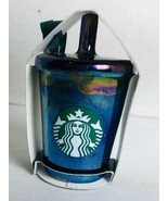 Starbucks 2019 Iridescent Christmas Ornament Ceramic  BRAND NEW - $20.38