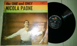 The One and Only Nicola Paone Vinyl Record ABC Paramount Records ABC-263-B - $5.93