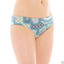 a.n.a Tribal Print Hipster Swim Bottoms Size 4 New Msrp $44.00 - $12.99