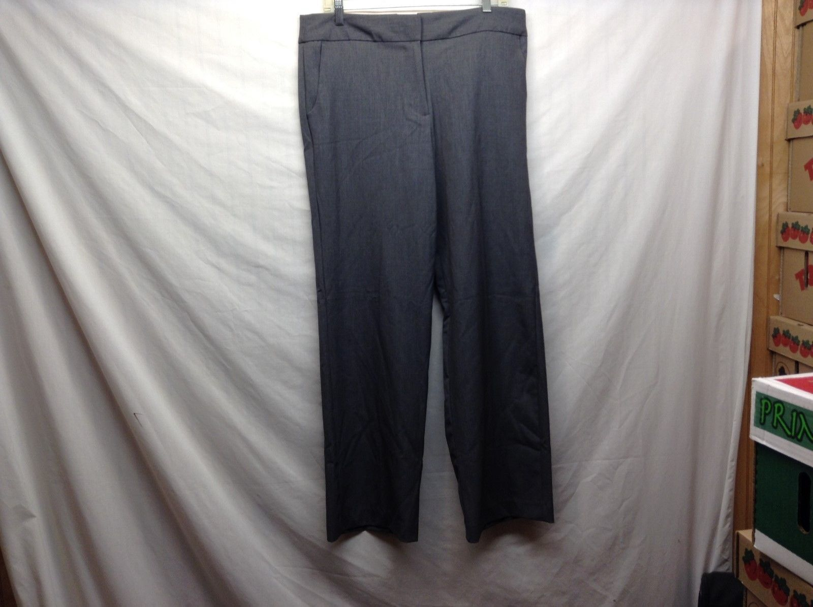 Ladies Charcoal Gray Dress Pants by Counterparts Sz 12