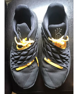 Mens Nike Kyrie 4 Low Black Authentic Sneakers 8.5(A08979-004)Rainbow Gu... - $24.75