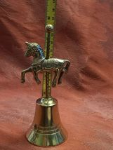 Vintage Solid Brass Unicorn Bell image 4