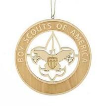 Boy Scouts Of America Wooden Laser Cut Emblem Ornament w - $9.99