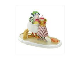 "Snowman Hands Over His Heart ""Love"" Christmas Figurine - $25.95"