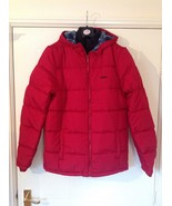 Lee Cooper 2 Zip Bubble Jacket / Mens - Sizes: M / L - Colour : Deep Red - $33.50