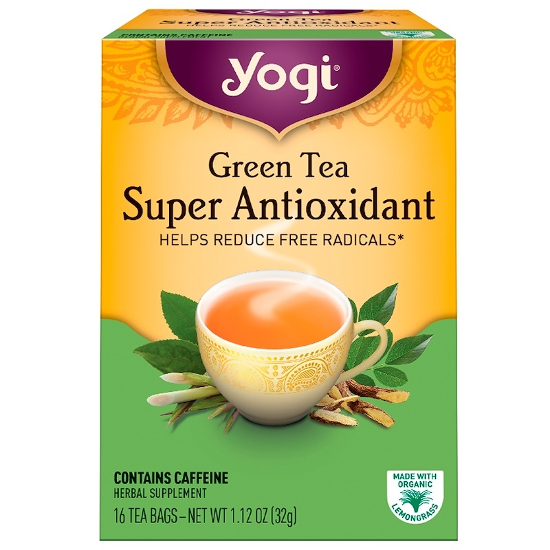 Yogi Tea, Green Tea Super Antioxidant, 16 Tea Bags, 1.12 oz (32 g)