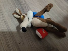 Looney Toons WB Exclusive 1999 Sept. School Day Wile E Coyote Mini Bean ... - $5.94