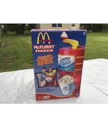 McKid's  MCDONALD'S McFlurry Maker Ice Cream Toy w Box Inst. - $19.75