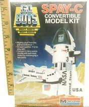 1984 Monogram Go Bots Spay-C Mighty Robots Vehicle Model Kit Sealed Box ... - $18.69
