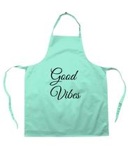 printed apron good vibes UK - $30.01