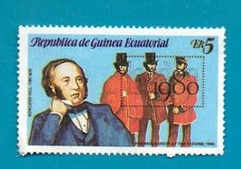 REPUBLICA DE GUINEA ECUATORIAL #1769 AWN 5 multicoloured  SIR ROWLAND HI... - $1.99