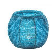 #10017326   *Sky Blue Beaded Candle Holder* - €11,75 EUR