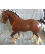 <><   Breyer Traditional size #80 Vintage Clydesdale Used does have stamp - $31.49