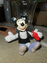 """2001 MINNIE MOUSE 5"""" Stuffed Toy Disney's House of Mouse for McDonald's/GUC - $9.89"""