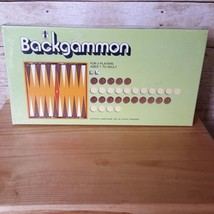 VINTAGE TOY 1973 BACKGAMMON BOARD GAME - Sealed NEW Old Stock - $21.28