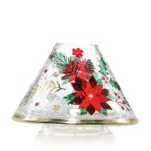 Yankee Candle Poinsettia Jar Candle Shade - $25.00