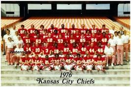 NFL 1976 Kansas City Chiefs Color Team Picture 8 X 12 Photo Picture - $7.99