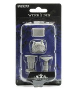 WizKids Deep Cuts Unpainted Miniatures: Witch's Den NEW! - $4.94
