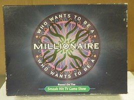VINTAGE GAME- WHO WANTS TO BE A MILLIONAIRE- USED- GOOD CONDITION-  - $5.83
