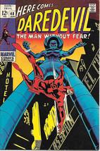 Daredevil Comic Book #48 Marvel Comics 1969 VERY FINE- - $30.88