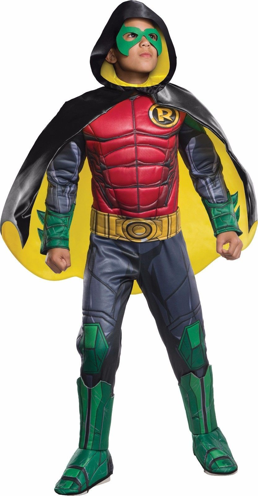 Rubies Premium Robin DC Comics Gotham City Childs Boys Halloween Costume 620101