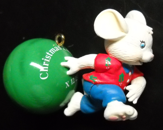 Carlton Cards Heirloom Christmas Ornament Ten-Pin Christmas Bowling Original Box