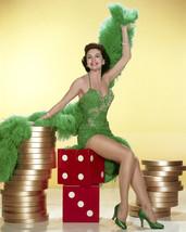 Cyd Charisse Pose in Showgirl costume Las Vegas dice 11x14 Photo - $14.99