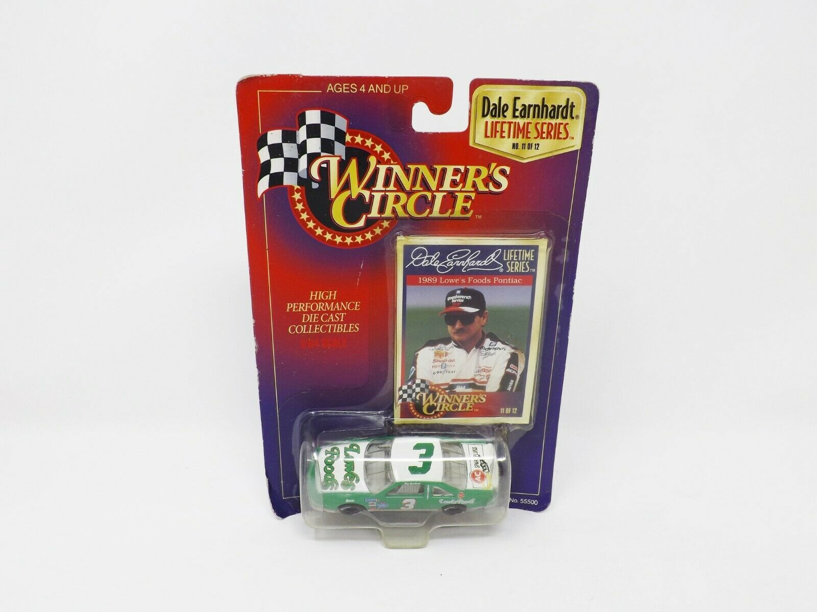Primary image for 1997 Winner's Circle Lifetime Series Die Cast Car & Trading Card Dale Earnhardt