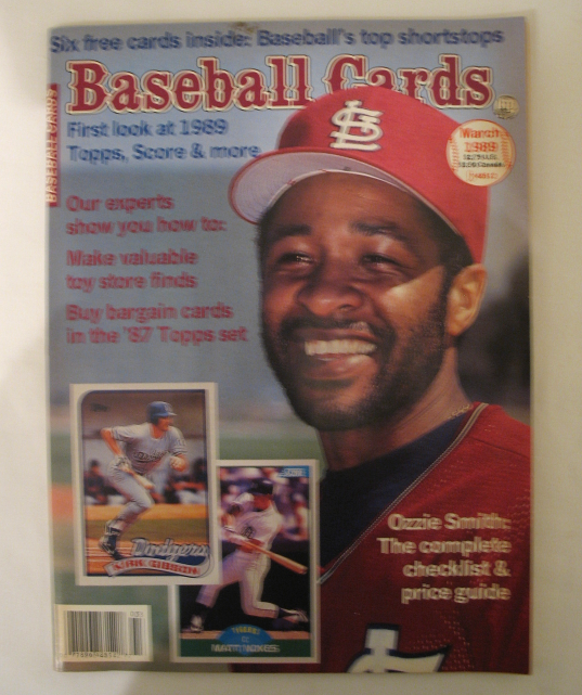 March 1989 Baseball Cards Magazine Ozzie And 50 Similar Items