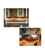 "Beistle Party Decoration German Fabric Bunting 5' 10"" - 6 Pack (1/Pkg) - $75.86"