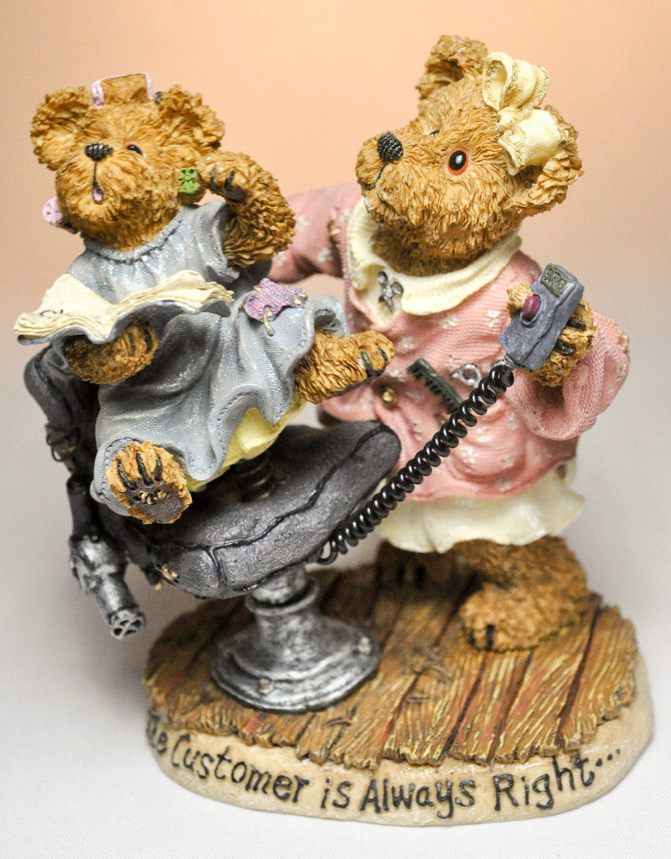 Boyds Bears: Alice Clipenship - No Charge - First Edition 1E/3171 # 227774