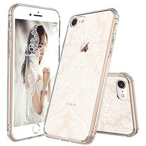 iPhone 8 Case, iPhone 7 Case, MOSNOVO Damask Henna Mandala Lace (Damask) - $31.17