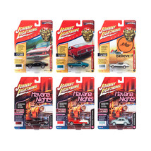Muscle Cars USA 2018 Release 2 Set A of 6 1/64 Diecast Model Cars by Joh... - $63.91